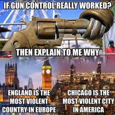 Because there aren't moats and guarded border crossings to prevent idiots from surrounding areas from bringing in weapons.