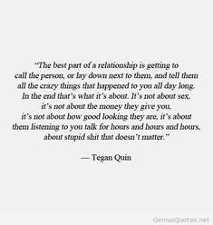 The best part of a relationship quote