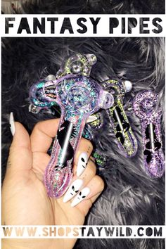 The glitter glass pipes with unicorns and mermaid silhouettes ShopStayWild.com #love #home #ideas #things #idea #marijuana #cannabis #stoned #high #cannabiscures #legalize #420 #710 #wax #shatter #glass #vape #style #ideas #ganja #kush #cbd #bath #smoke #bongbeauties #alien #ganjagirls #potprincess #bakedbarbie #stonergirl #stoner problems #weed humor #funny #cool