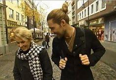 David Garrett and his Mom