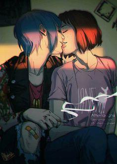 Chloe Price and Max Caulfield - Life is Strange.