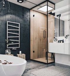 Perfect bathroom!
