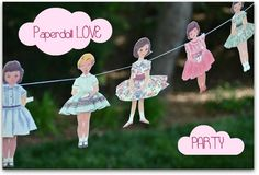 Paper Dolls party