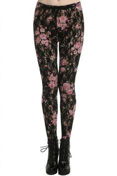 Getting Hipster Leggings: Lengging Flower ~ frauenfrisur.com Hipster Clothing Inspiration