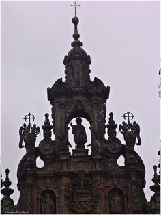 Catedral de Santiago de Compostela.  http://www.viajesenfamilia.it