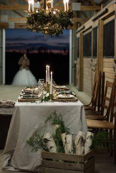 Rustic Chic Winter Wedding Inspiration Cove City NC Winterwedding Barnwedding Farmwedding