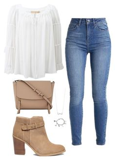 """Untitled #108"" by bellaxoxx on Polyvore featuring Michael Kors, Sole Society, DKNY and Marvel"