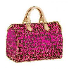 pink louis vuitton bag