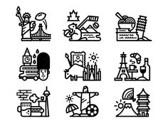 Places by Kevin Moran #Design Popular #Dribbble #shots