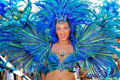 Carnival 2012 in Trinidad & Tobago showcases beautiful colors of this popular international event. We were one of the accredited photographers.
