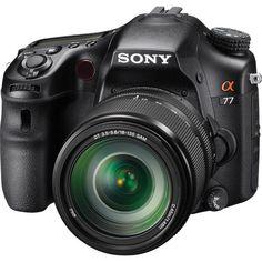 Sony Alpha SLT-A77 DSLR Digital Camera with 18-135mm SLTA77VM