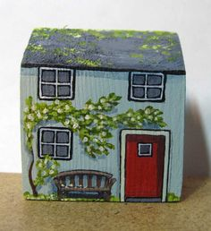 Jasmine Cottage by jamjarart on Etsy
