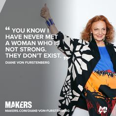 Diane von Furstenberg wowed at #NYFW on Sunday with flowy, colorful designs. This year marks the 40th Anniversary of the wrap dress, DVF's design for the modern, independent woman. She's a MAKER and a creative inspiration. See some of her best looks and more motivational words: http://aol.it/1uiKIpr