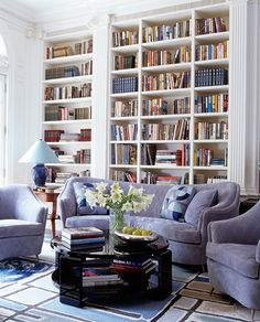 Anthony Baratta...love bookshelves!  Heather!
