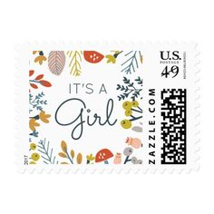 Autumn Wedding Ideas Autumn Floral Monogram Postage - Whimsical and colorful fall foliage illustration design by Shelby Allison. Top Wedding Trends, Cute Wedding Ideas, Wedding Tips, Destination Wedding, Wedding Photos, Welcome Baskets, Paper Owls, Autumn Wedding, Best Gifts