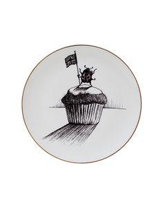 Rory Dobner Ladybird Cupcake Plate
