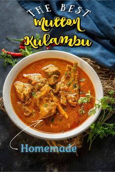 Indian Food Recipes, Asian Recipes, Ethnic Recipes, Mutton Gravy, Kulambu Recipe, Recipe Steps, Middle Eastern Recipes, Rice Dishes, Curry Recipes