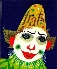 frats de clown, illustration by cornelius van velsen, 1963