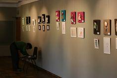The Idle Housewife: Montage de l'exposition :: montagem da exposição