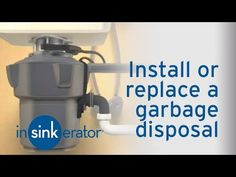 27 best garbage disposal installation images garbage disposal rh pinterest com