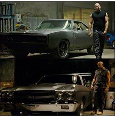 Vin Diesel aka Dom Toretto