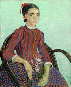 """gogh vincent la mousme 1888 (from <a href=""""http://www.oldpainters.org/picture.php?/26325/category/10322""""></a>)"""