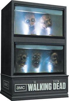 The Walking Dead Season 3 (Limited Edition) (Blu-ray Disc) -- I gave this to Dan for Christmas. Just as super cool in real.