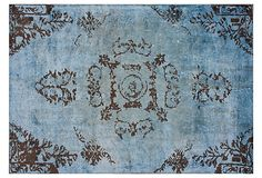 Roone Rug, Slate on OneKingsLane.com I love the color of this rug and the design. It's too big for the space I want to put it in though. :(