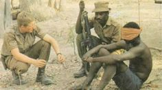 Interrogation of SWAPO insurgent. South African Air Force, Army Day, Brothers In Arms, Defence Force, Tactical Survival, My Heritage, African History, Iron Fist, Military Uniforms