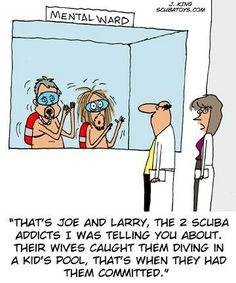 88 best scuba funnies simply scuba images jokes hilarious