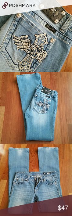 Cute Miss Me Jeans Inseam 33/34 Miss Me Jeans Boot Cut