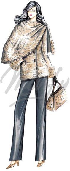 Sewing pattern Coats / Overcoats / Jackets 2565