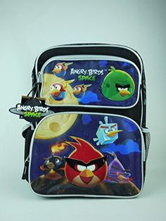 Backpack Angry Birds Space Perfect Bows V2 16 Large School Bag   Visit the  image link e279bf4db73b8