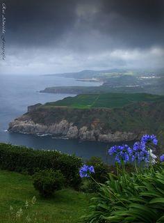 Miradouro de Santa Iria, São Miguel the #Azores #Portugal