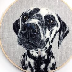 Photo Realistic Felt Animal Paintings by Dani Ives