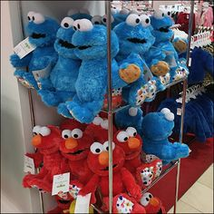 Well-Stocked Sesame-Street Plush Tower