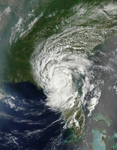 Earth From Space: Tropical Storm Beryl Over Florida