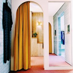 Shop Tour: Rachel Comey Designer Rachel Comeys beautiful Soho Store: www. The post Shop Tour: Rachel Comey appeared first on Vardagsrum Diy. French Curtains, Shabby Chic Curtains, Gold Curtains, Ikea Curtains, Velvet Curtains, Country Curtains, Brown Curtains, Short Curtains, Elegant Curtains