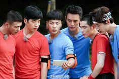Jackson apparait sur le weibo de 'Fighting Man'