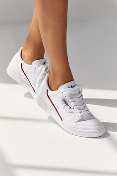 Find all your women's sneaker needs at Urban Outfitters. From slip on sneakers to chunky sneakers featuring brands like Nike, Fila, adidas, Reebok & Vans. Women's Shoes, Cute Shoes, Me Too Shoes, Shoes Sneakers, Shoes Style, Casual Sneakers, Tennis Shoes Outfit, Dance Shoes, Summer Sneakers