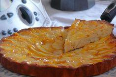 Tarta de manzana 'twin apple'
