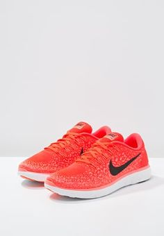 another chance 41652 3bacd Femme Nike Performance FREE RUN DISTANCE - Chaussures de course neutres -  bright crimson black hyper orange white orange  111,00 € chez Zalando (au  ...