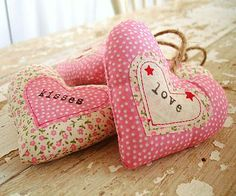 love & kisses bundle of hearts by 'by alex' | notonthehighstreet.com