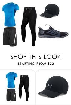 """""""Leg Day - Wednesday"""" by ajay-parmar on Polyvore featuring Under Armour, Helly Hansen, men's fashion and menswear"""
