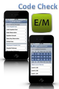 E&M Medical Coding App for the iPhone