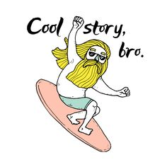 Fun characters and surf puns for iMessage on iPhone, iPad, Apple Watch and Mac Surf Art, Surfing, Behance, Illustrations, Stickers, Cool Stuff, Fun, Illustration, Surf