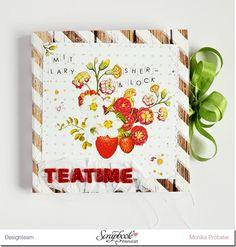 """*Imagicallery* Mini- Album von Monika mit Webster's Pages """"Strawberry Fields"""""""