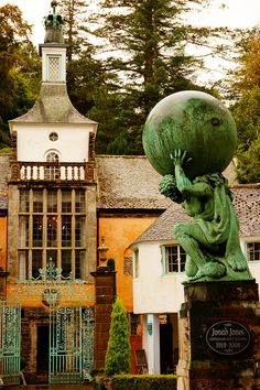 Portmeirion, Wales by davidtclay Places To Travel, Places To See, Wales Uk, North Wales, Welsh English, Snowdonia, Beautiful Castles, England And Scotland, British Isles