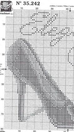 0 point de croix escarpins - cross stitch stiletto, high heels part 2