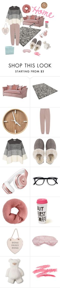 """Home sweet home"" by ali23bo ❤ liked on Polyvore featuring T By Alexander Wang, MANGO, UGG, Beats by Dr. Dre and Hollister Co."